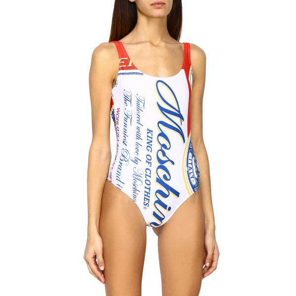 Capsule Collection Moschino X Budweiser swimsuit