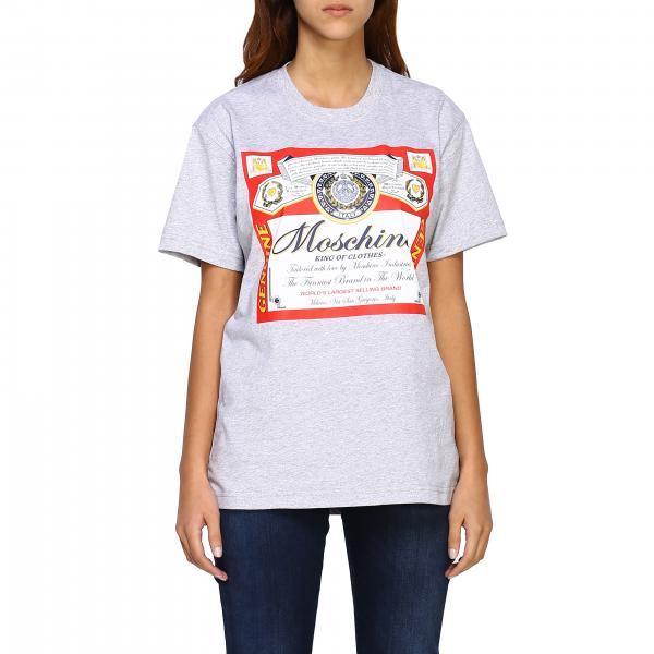 Capsule Collection Moschino X Budweiser t-shirt in cotton jersey