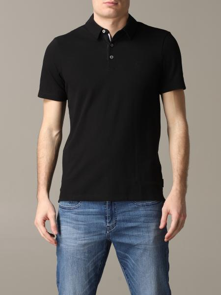 Armani Exchange Polo Shirt mit kurzen Ärmeln