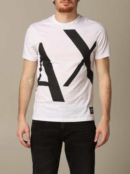 T-shirt col rond Armani Exchange avec logo