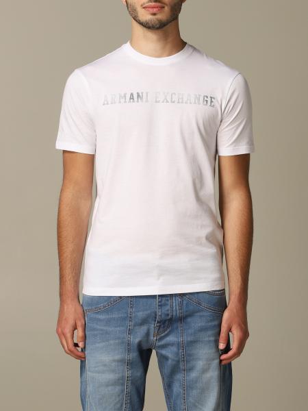 T-shirt Armani Exchange avec grand logo