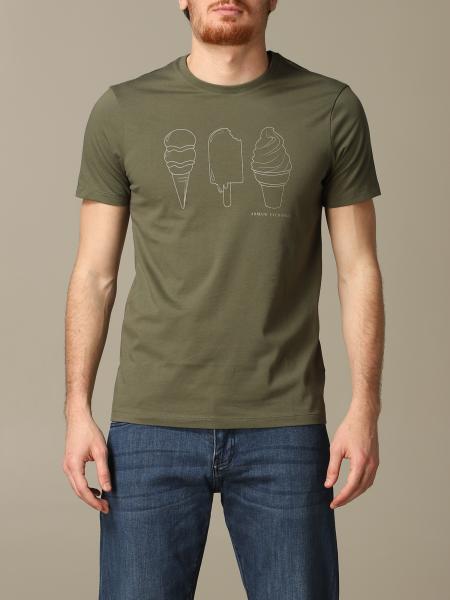 T-shirt Armani Exchange avec imprimé glace