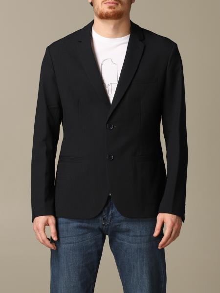 Veste droite en coton Armani Exchange