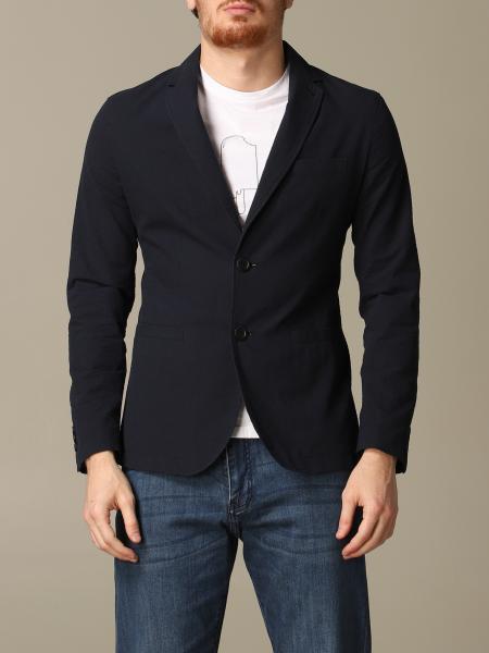 Veste Armani Exchange en coton texturé