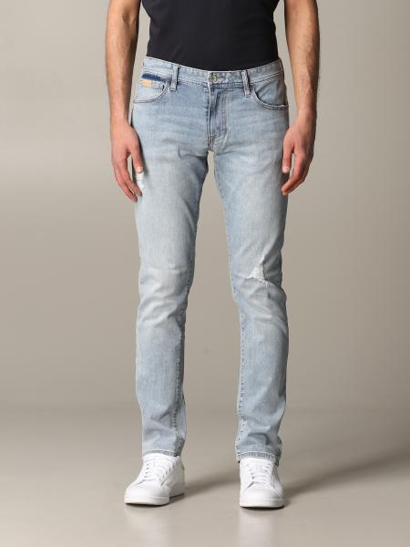 Jeans skinny Armani Exchange avec déchirures
