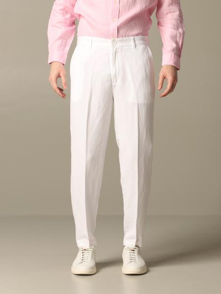 Pantalon pantalon en lin armani exchange Armani Exchange - Giglio.com