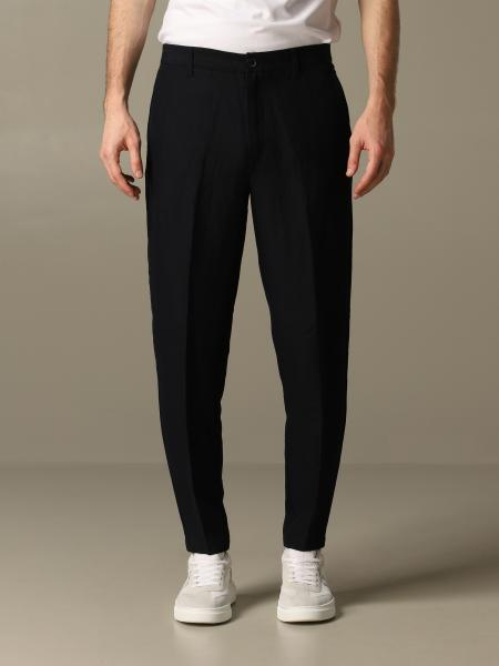 Pantalon en lin Armani Exchange
