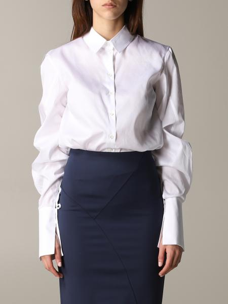 Patrizia Pepe shirt in poplin with wide sleeves