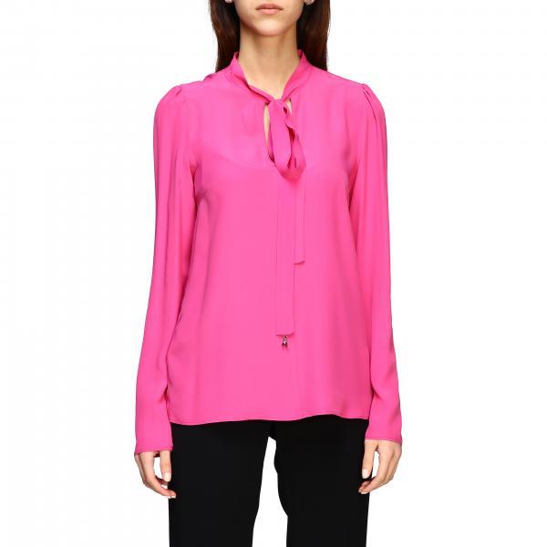 Patrizia Pepe basic silk shirt