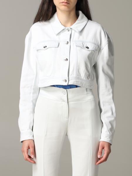 Giacca di jeans Patrizia Pepe cropped
