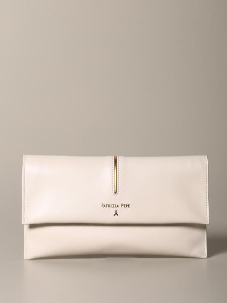 Clutch Patrizia Pepe in pelle con patta
