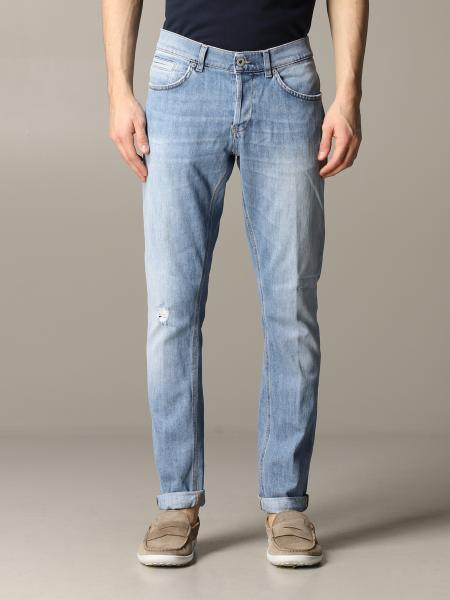 Jeans George Dondup en denim slim fit usé