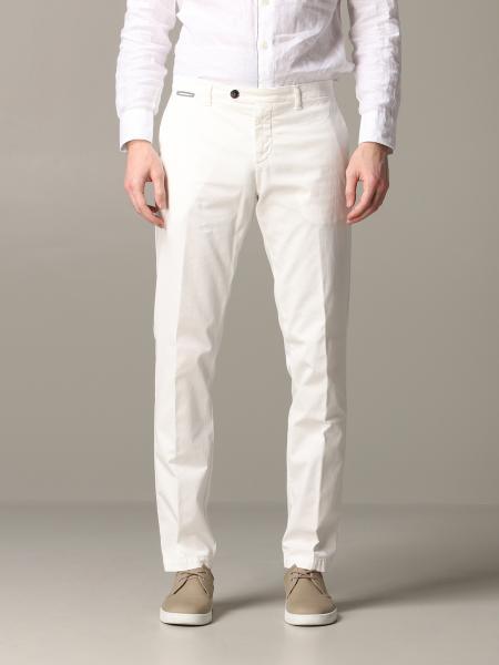Pantalone pantalone eleventy in cotone con tasche america Eleventy - Giglio.com