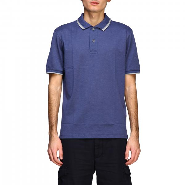 Eleventy Platinum short-sleeved polo shirt