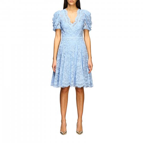 Платье с кружевом Женское Ermanno Scervino