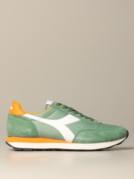Koala r Diadora sneakers in suede leather and nylon