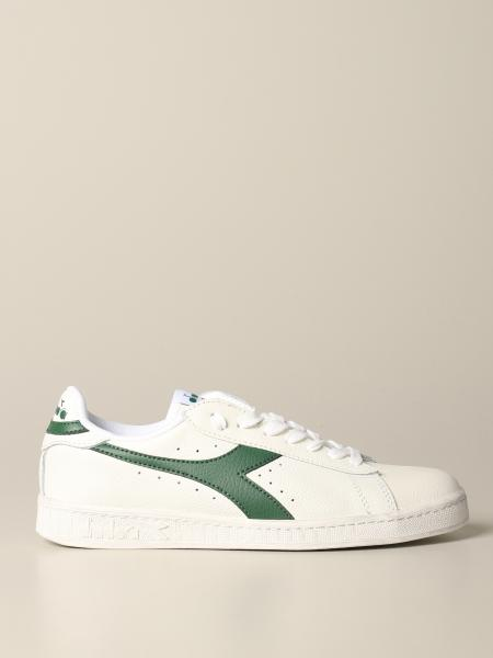 Diadora Game l low waxed sneakers in textured leather
