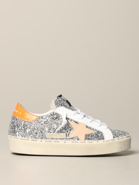 Baskets Hi Star Golden Goose à paillettes