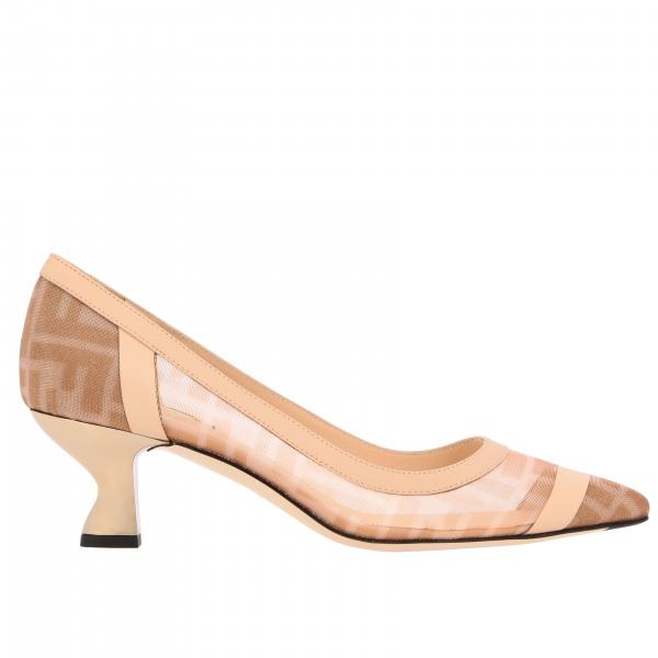 Туфли с принтом FF Женское Fendi