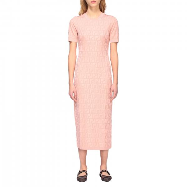 Fendi sheath dress with all over FF monogram