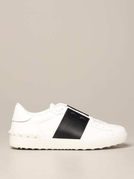 Open Valentino Garavani Sneakers aus Leder