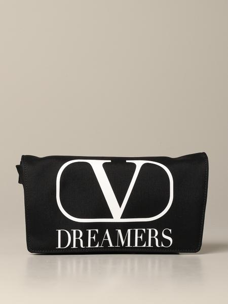 Valentino Garavani Nylon Gürteltasche mit VLogo Dreamers Print