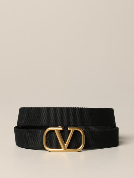Cintura VLogo Valentino Garavani in canvas