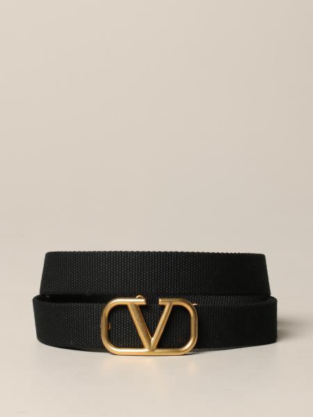 VLogo Valentino Garavani belt in canvas