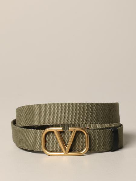 Valentino Garavani Vlogo 帆布腰带