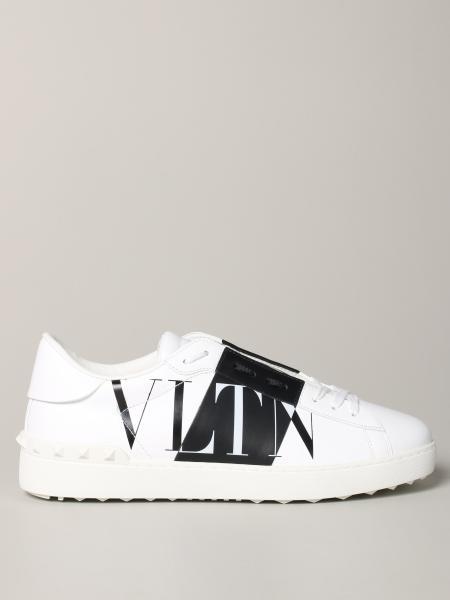 Valentino Garavani Sneakers aus Leder mit VLTN-Streifen