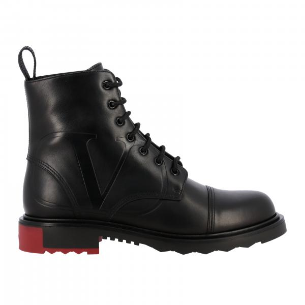 VLogo Valentino Garavani leather ankle boot