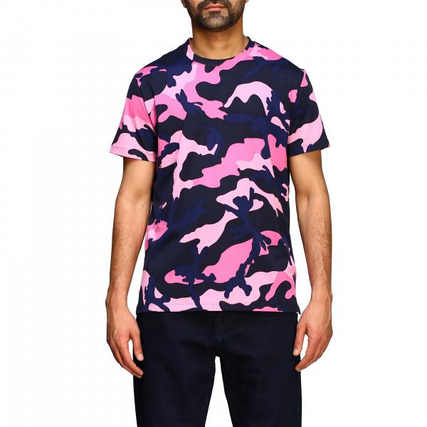T-shirt Valentino a girocollo camouflage