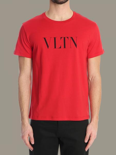 Valentino T-Shirt mit Rundhalsausschnitt und VLTN-Print