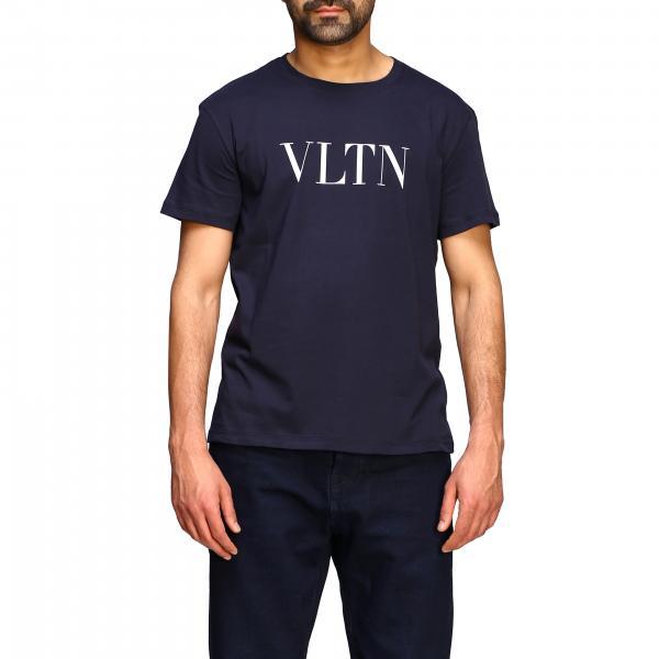Camiseta Valentino con cuello redondo y estampado VLTN