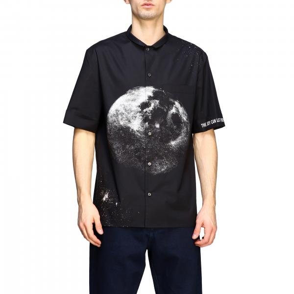 Valentino cotton shirt with moon print
