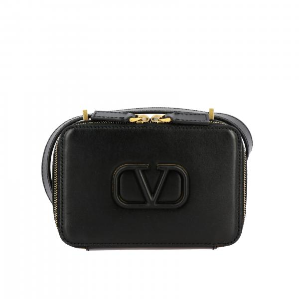 Valentino Garavani V sling leather bag