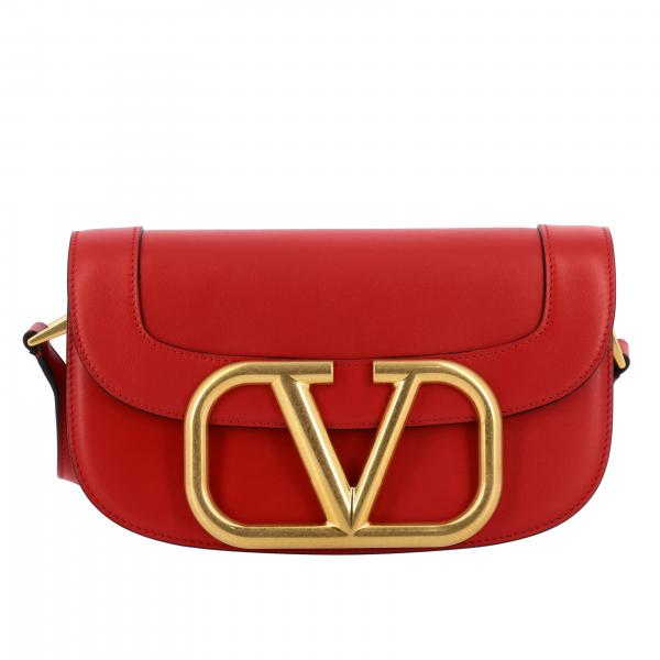 Valentino Garavani Super v shoulder bag in leather