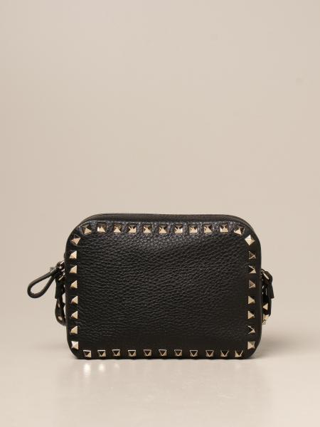 Valentino Garavani Rockstud Spike camera bag in leather