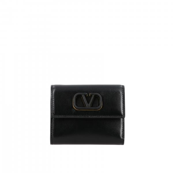 Valentino Garavani mini wallet with VLogo