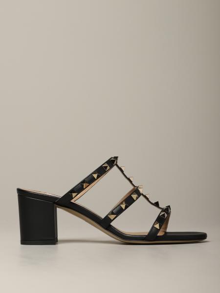 Sandalo Rockstud Valentino Garavani in pelle
