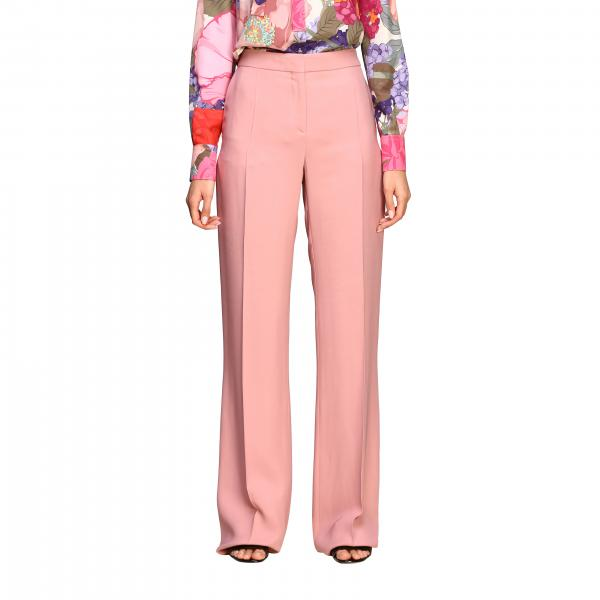 Valentino trousers in silk crêpe
