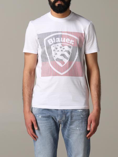T-shirt Blauer a maniche corte con logo