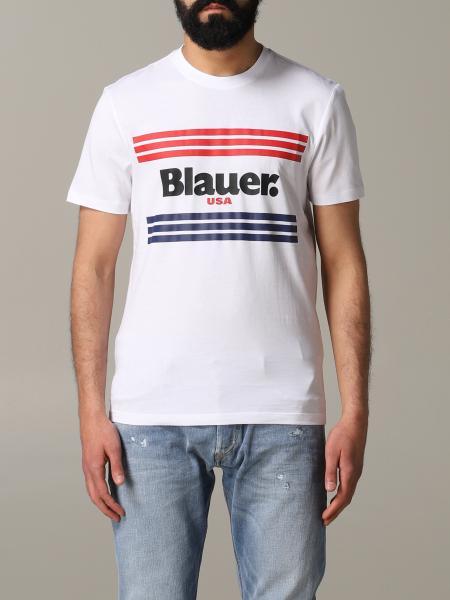 Blauer МУЖСКОЕ: Футболка Мужское Blauer