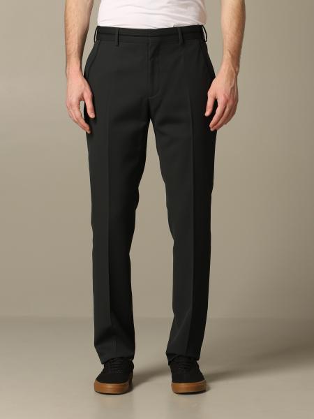 Pantalone Fendi con tasche america e banda