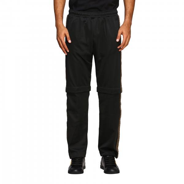 Pantalone Fendi in acetato con bande laterali e fondo amovibile