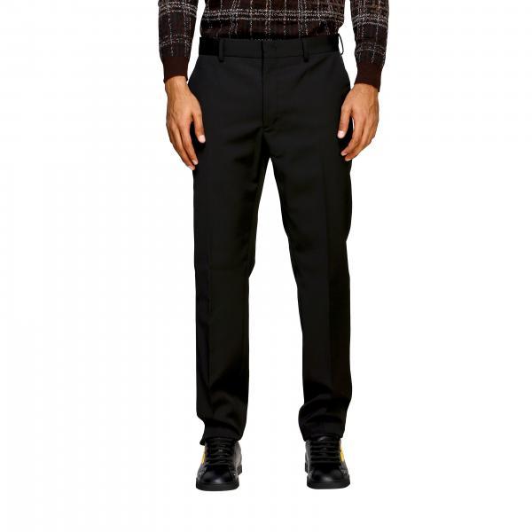 Pantalone Fendi di lana con tasche america