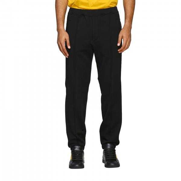 Fendi Jogging trousers with logoed bands