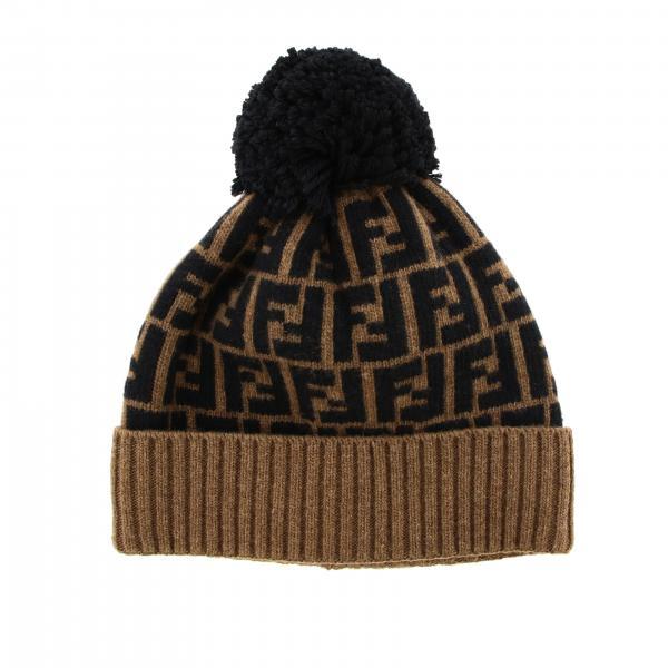 Fendi wool hat with FF monogram