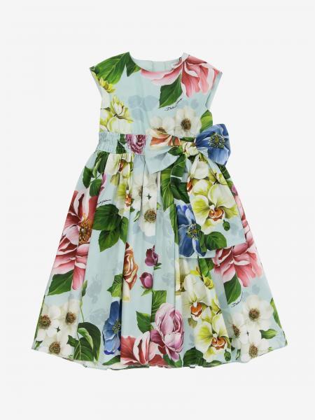 Dolce & Gabbana 花卉印花府绸连衣裙