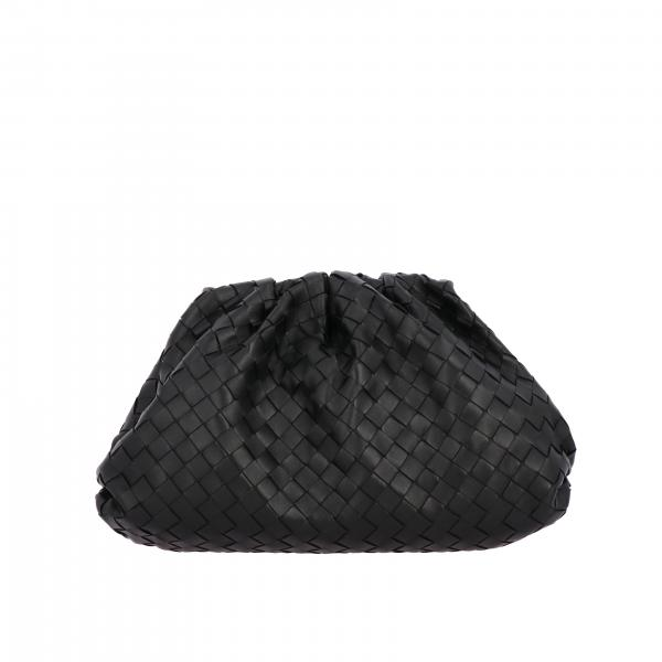 Clutch bottega veneta the pouch clutch in woven leather Bottega Veneta - Giglio.com